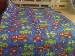 Cars Trucks quilt