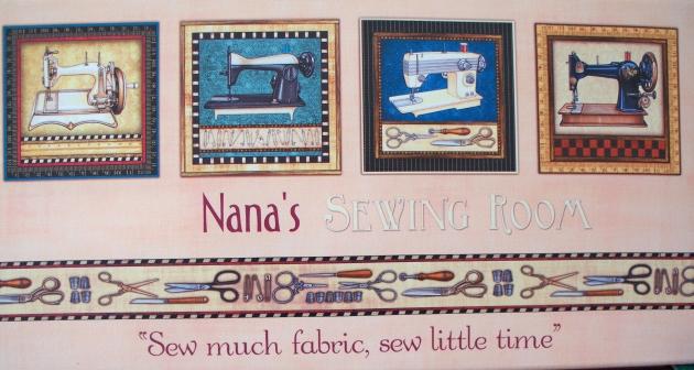 nanas sewing room